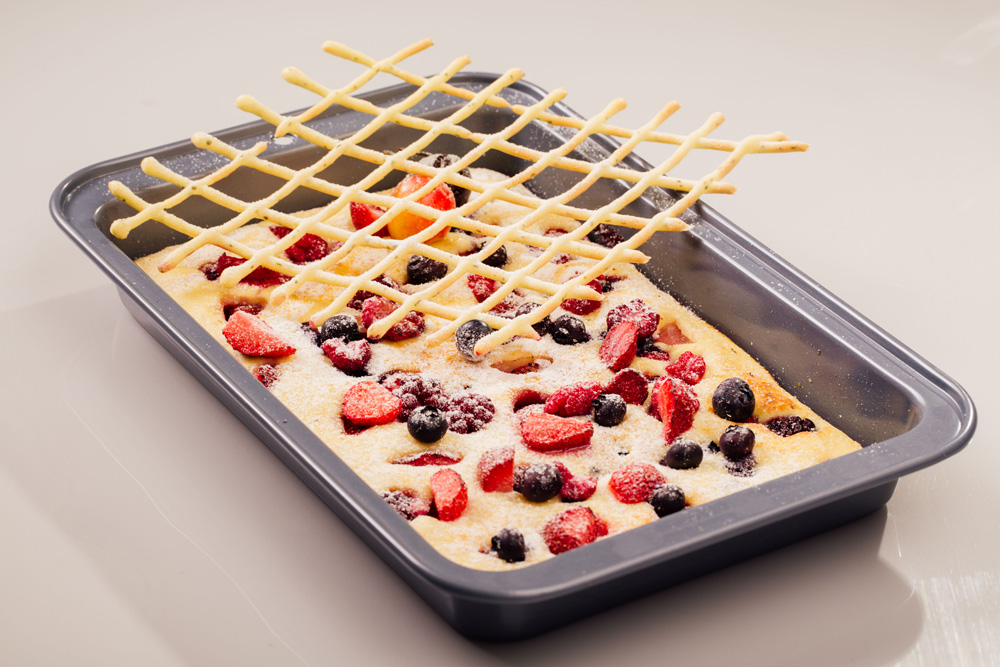 Mix Berries Baked Pancake