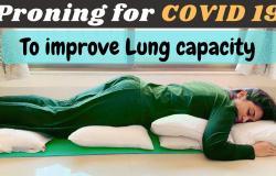 posisi proning bantu tingkatkan saturasi oksigen